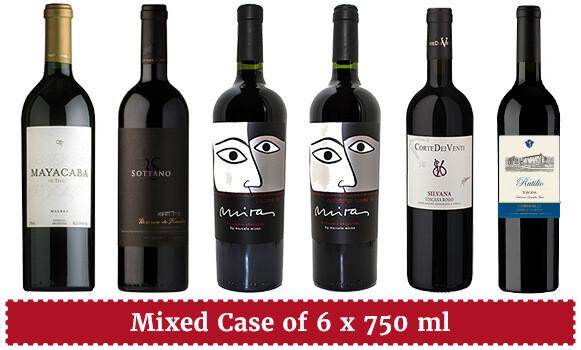 """Next-Level Big Reds—Argentine & Supertuscan"" Wine Enjoyment Pack"