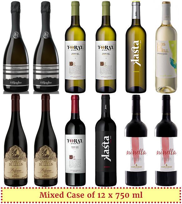 """Cozy Winter Picks"" Wine Selection"