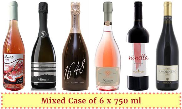 """Italian Sweethearts Sampler"" Wine Enjoyment Pack"