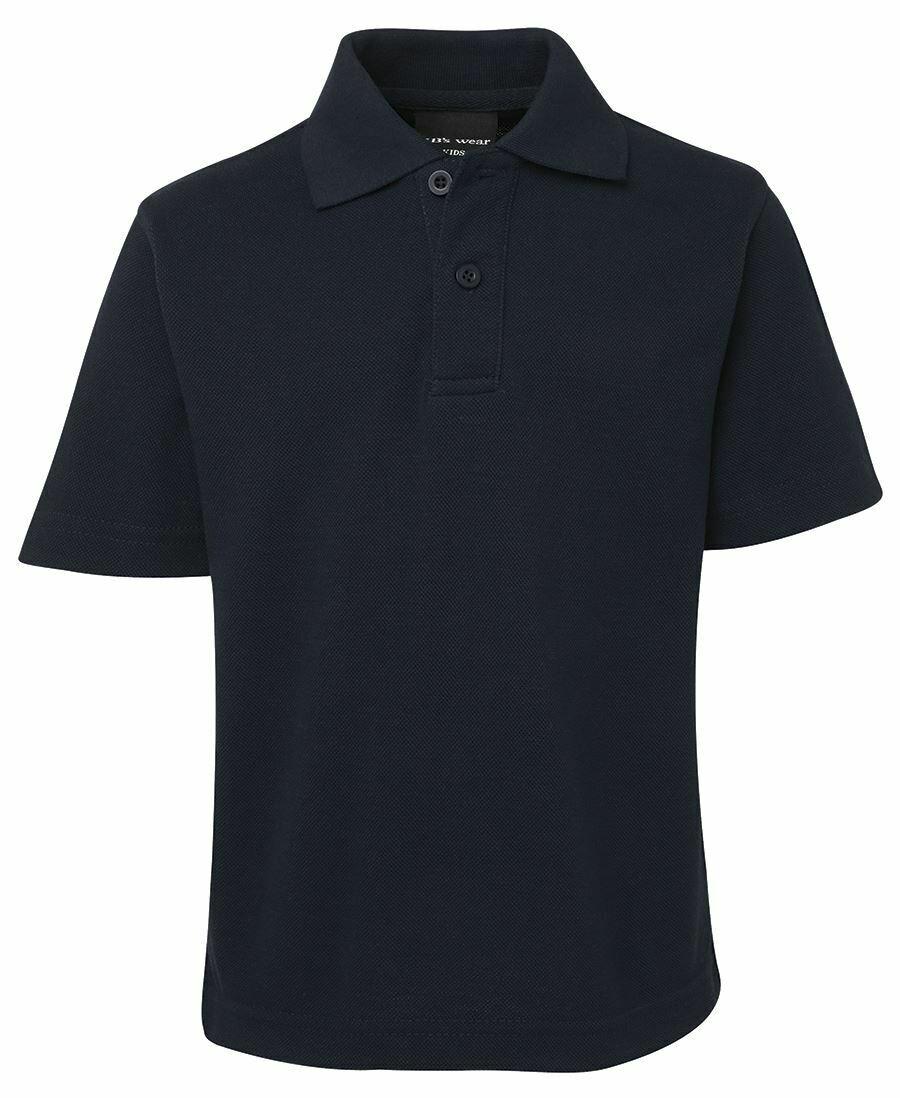 Kid's Polo shirt - Navy/Aqua