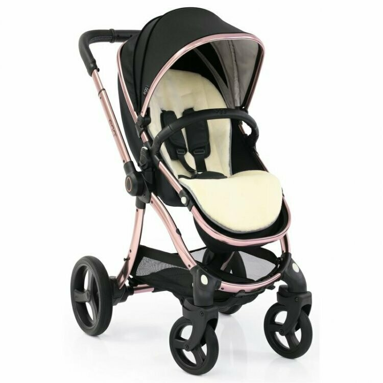 Egg 2 Stroller Diamond Black Rose Gold Chassis Rain Cover Net Apron Special Edition Little Stars Baby Shop