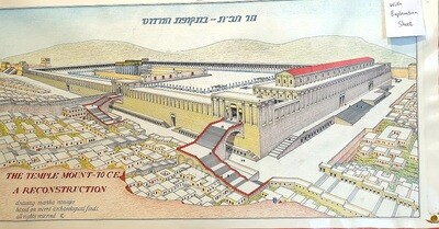 SECOND TEMPLE DRAWING