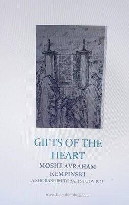 GIFTS OF THE HEART Shorashim Torah study PDF