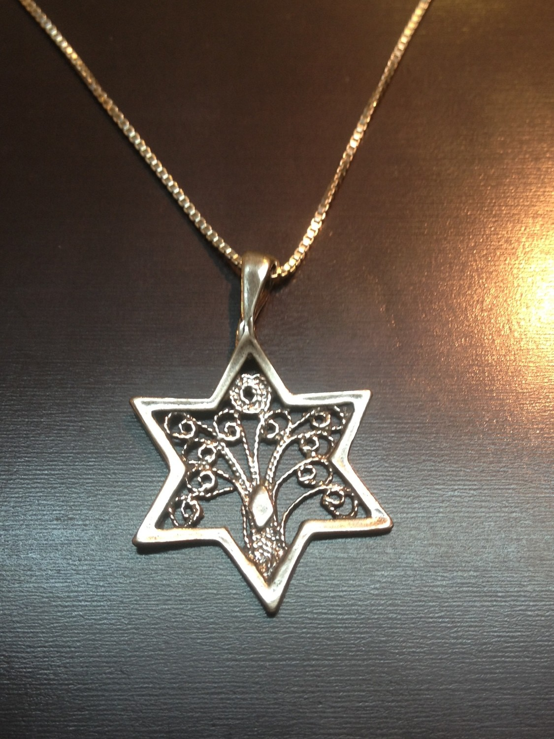 TREE OF LIFE SHIELDED BY THE STAR OF DAVID