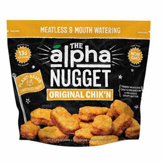 Alpha Foods 原味植物雞塊 / Nugget Original Chik'n (309 g)