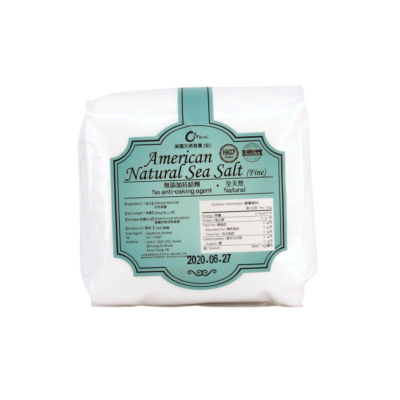 美國天然海鹽 (幼) / American Natural Sea Salt (Fine) (500 g)