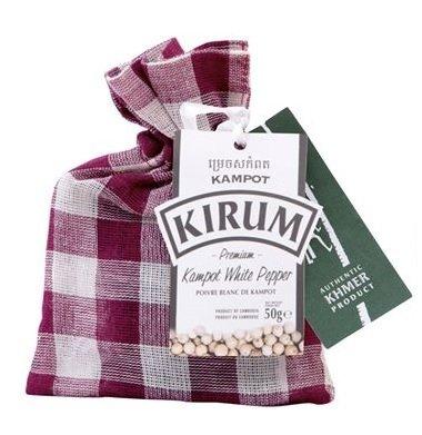 柬埔寨 (Kirum) 有機貢布白胡椒 / Kirum Organic Kampot White Pepper (50 g)