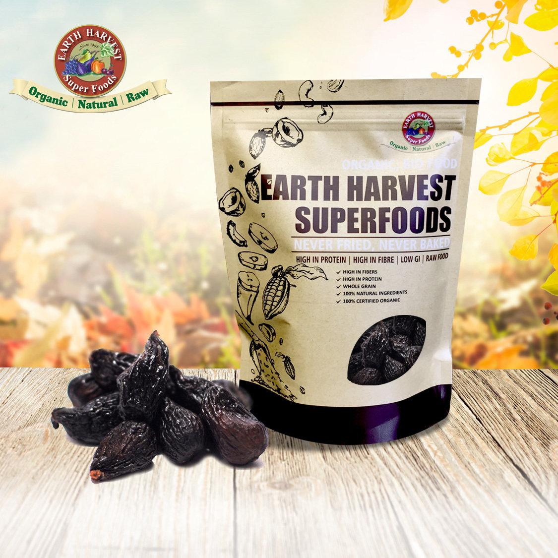 美國有機黑無花果乾 / Organic Black Dried Figs (150 g)