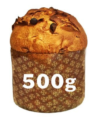 Panettone 500gr disponibile giovedì 3.12.2020