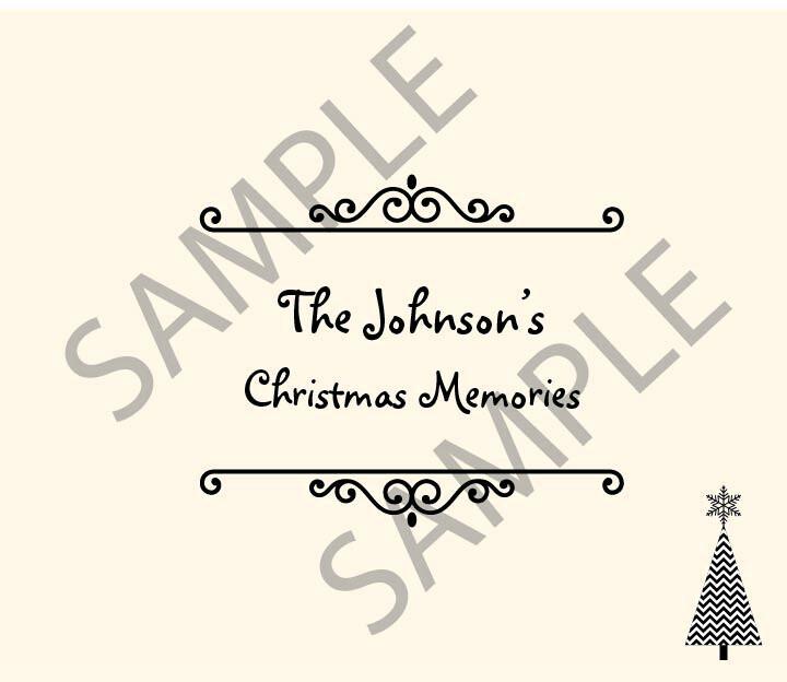 Christmas Memories Guest Book