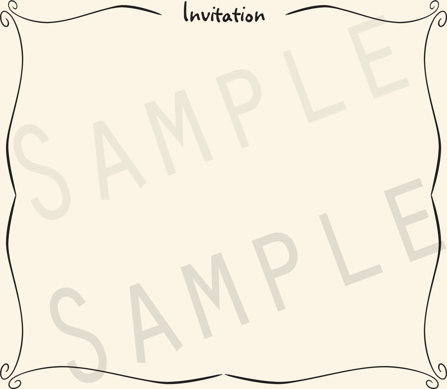 Add-on Collection: Casual Invitation Keepsake Pages