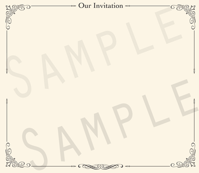 Add-on Collection: Formal Invitation Keepsake Pages