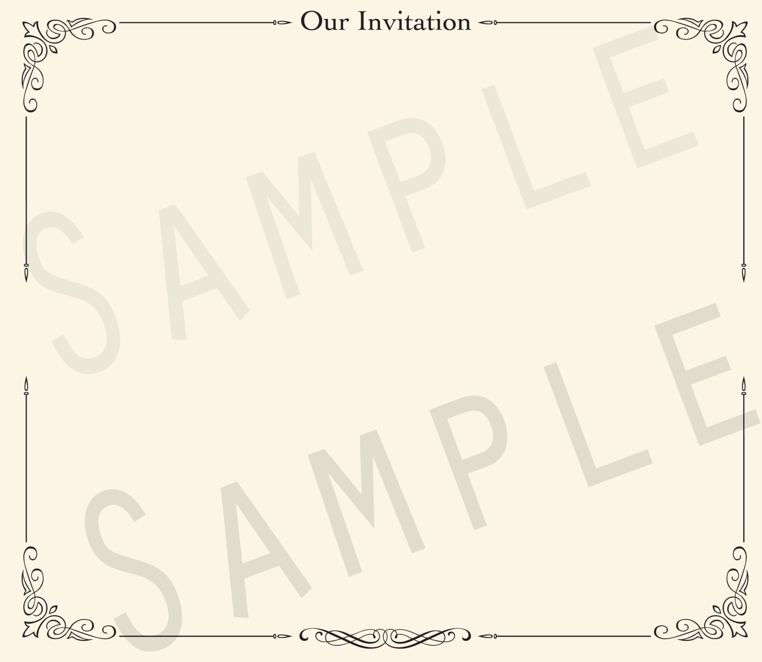 Add-on Collection: Invitation Keepsake Pages