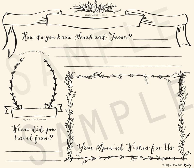 Enchanted Predictions Wedding Guestbook