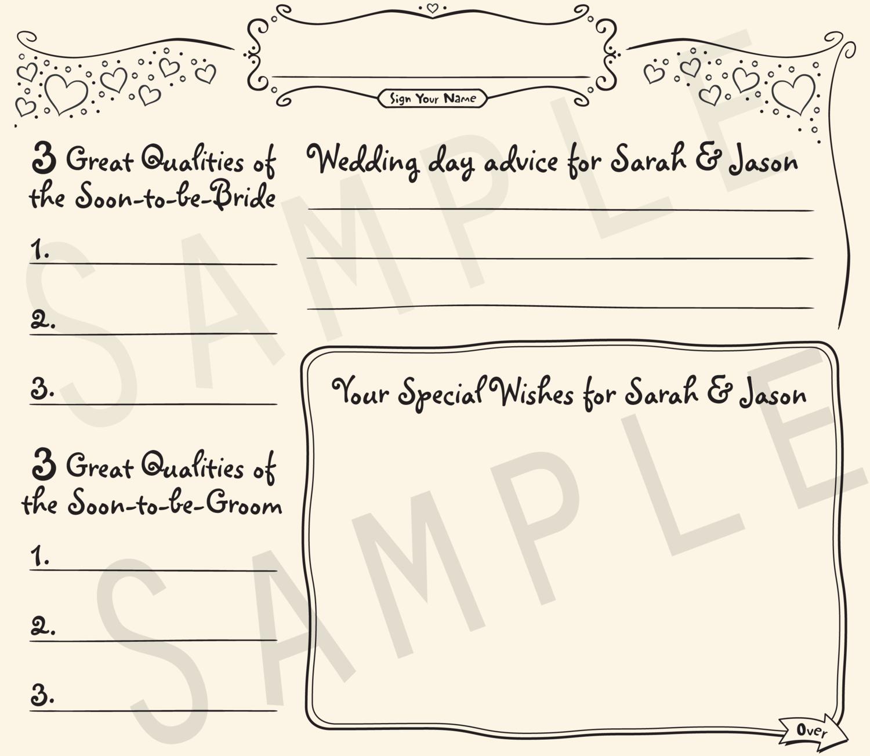Wedding Shower Guestbook