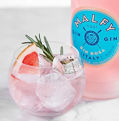 --SOMMER GIN --                    Malfy Gin Rosa 0,7