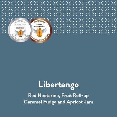 Espressist Libertango - Golden Bean 2017 Espresso Silver Medal