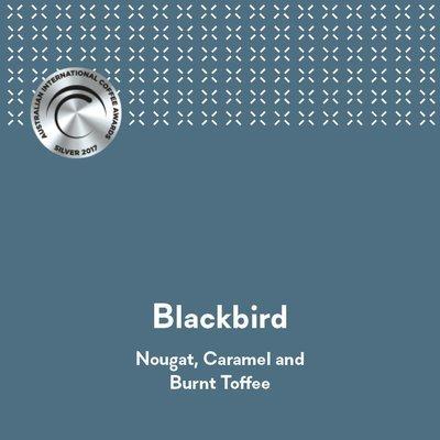 Espressist Blackbird - AICA 2017 Silver Medal
