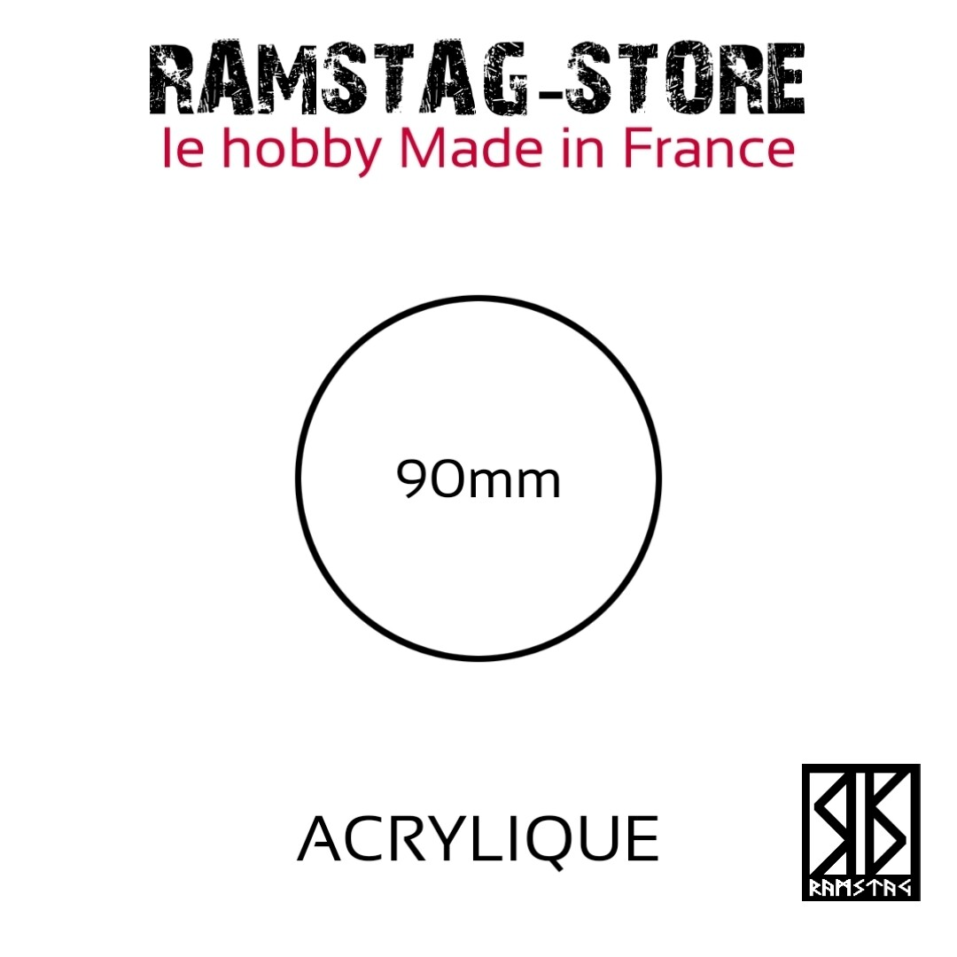 Socle Rond 90mm