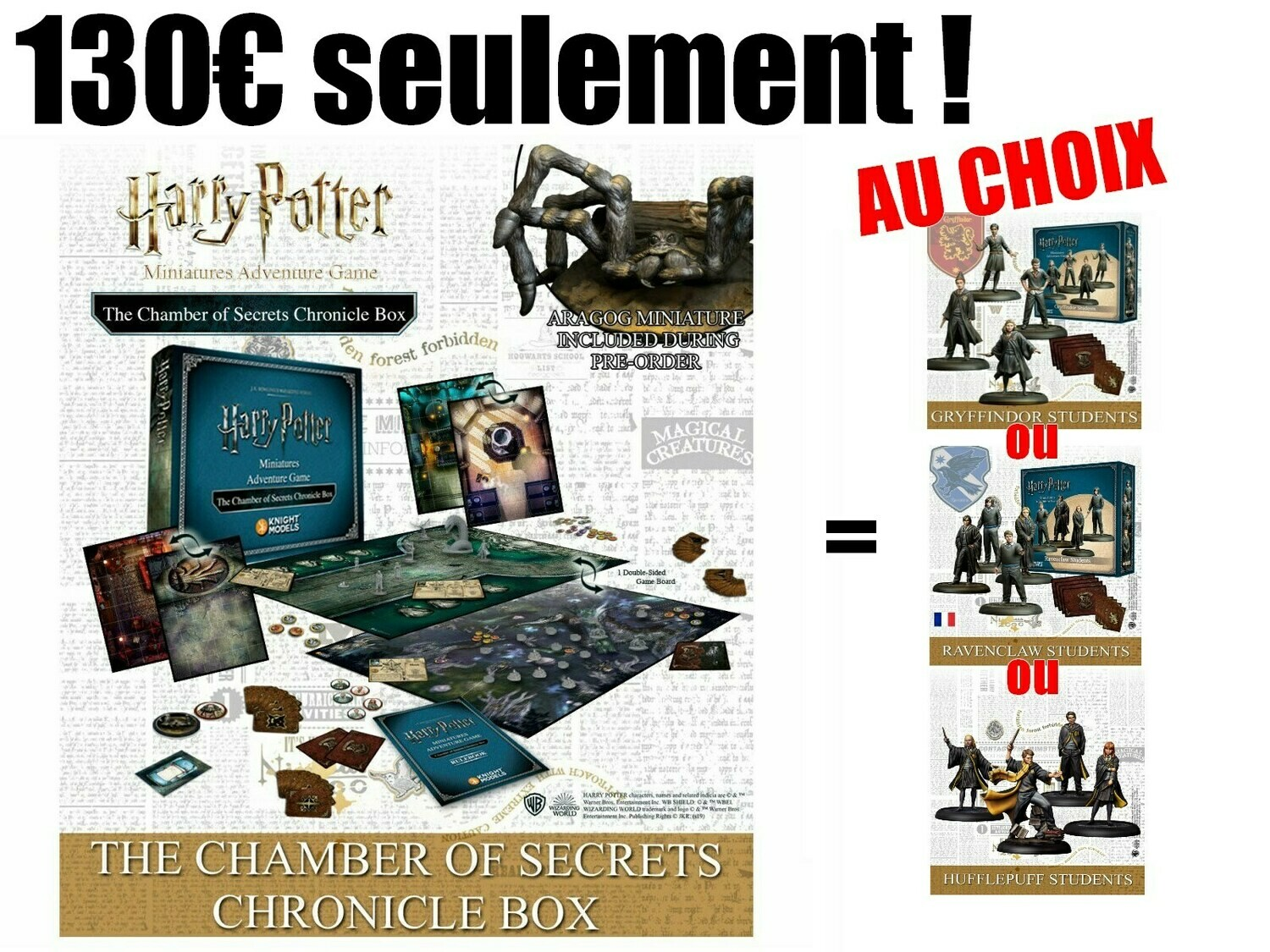THE CHAMBER OF SECRETS: CHRONICLE EXPANSION VF + maison offerte