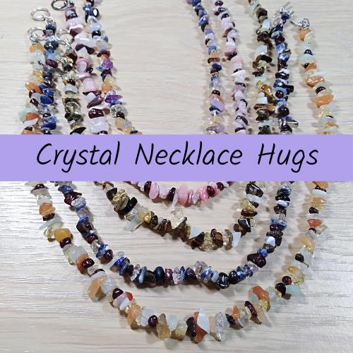 Crystal Necklace Hug C0001