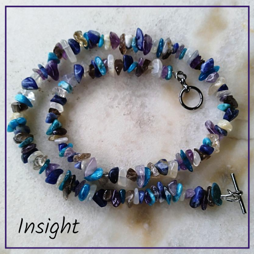 Blended Crystal Necklace Hug