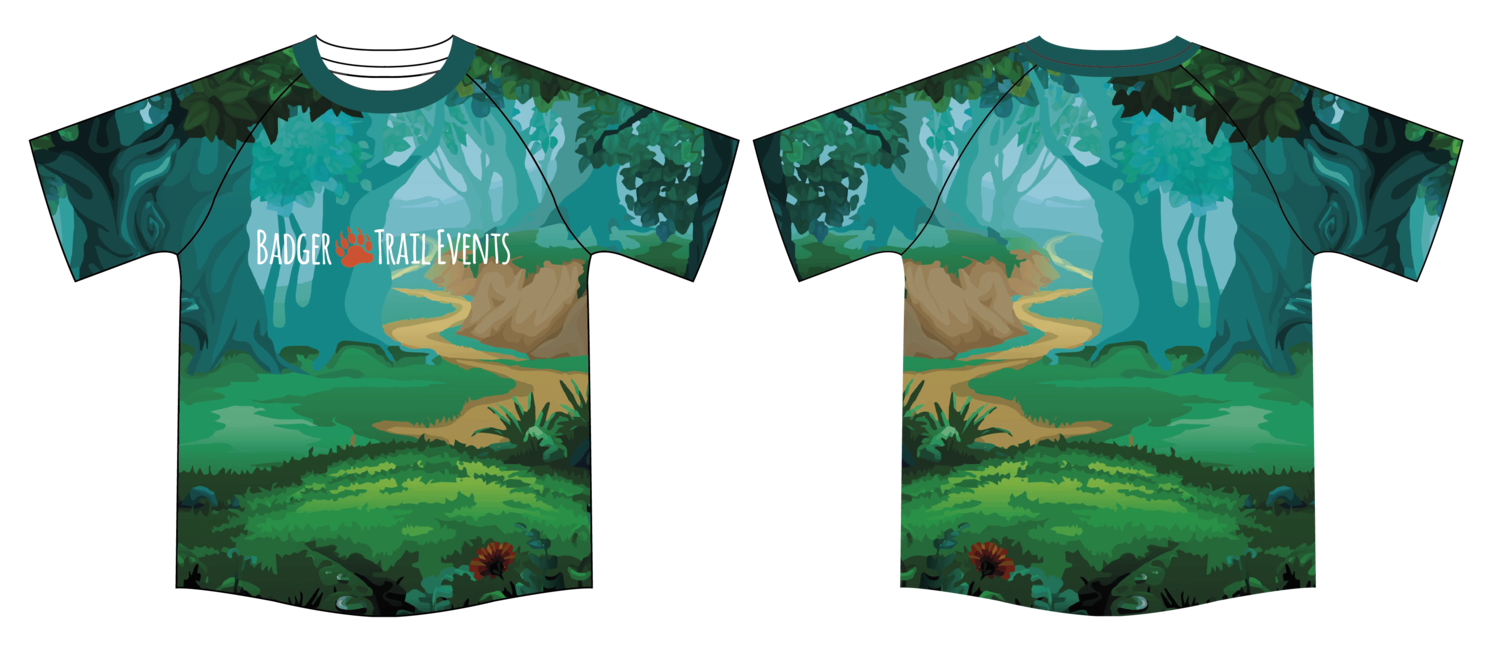 Woodland Pathway Tshirt LADIES FIT