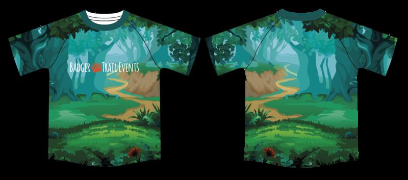 Woodland Pathway Tshirt LADIES FIT