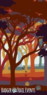 Autumn Woods Design Badger Scruff