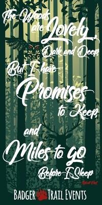 Miles to GO Design Badger Scruff