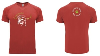 Dorset Ooser 2019 HALF Marathon Shirt RED (2XL ONLY)
