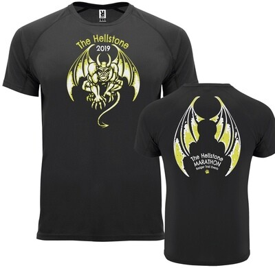 Hellstone 2019 Marathon T-shirt Black
