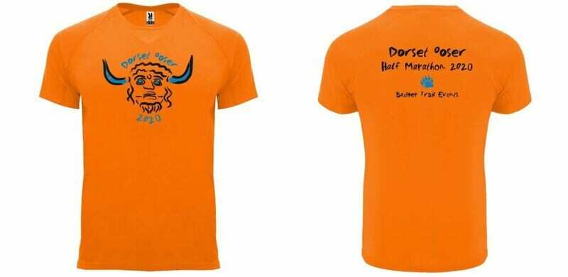 UNISEX FIT Dorset Ooser 2020 Half Marathon T-shirt