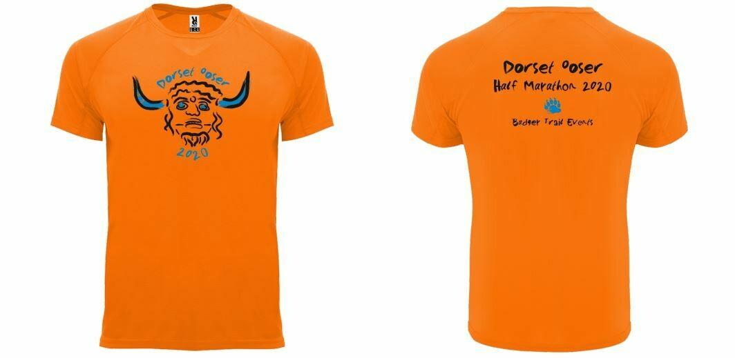LADIES FIT Dorset Ooser 2020 Half Marathon T-shirt