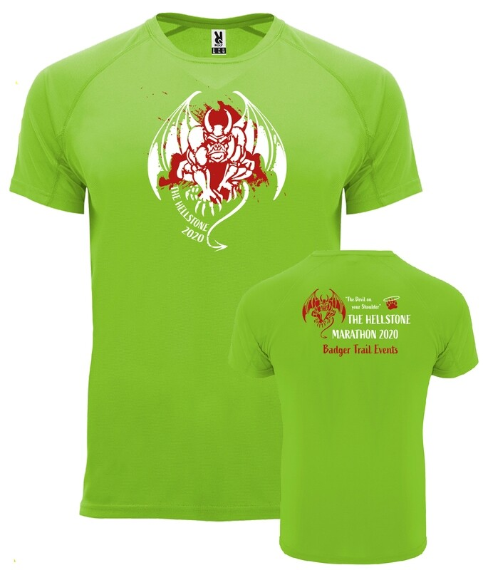UNISEX fit Hellstone Marathon 2020 Tshirt