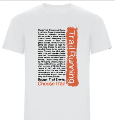 CHOOSE TRAIL technical T-shirt