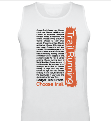 CHOOSE TRAIL technical training vest