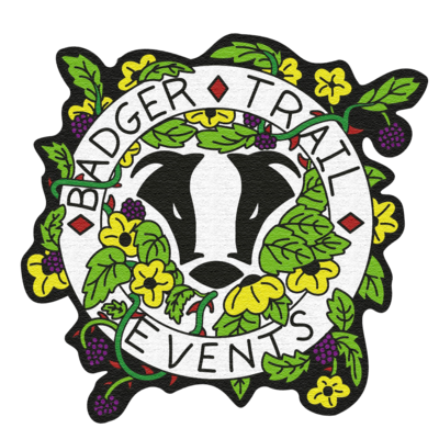 Badger Trail Events Woven Patch
