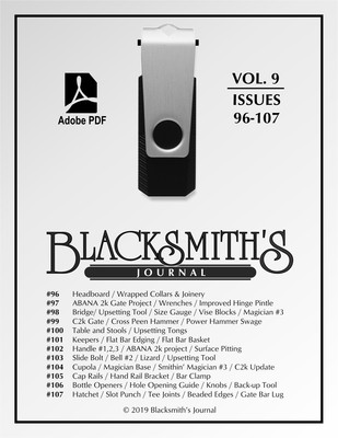 USB Flash Drive - Blacksmith's Journal Vol. 09 - NEW!