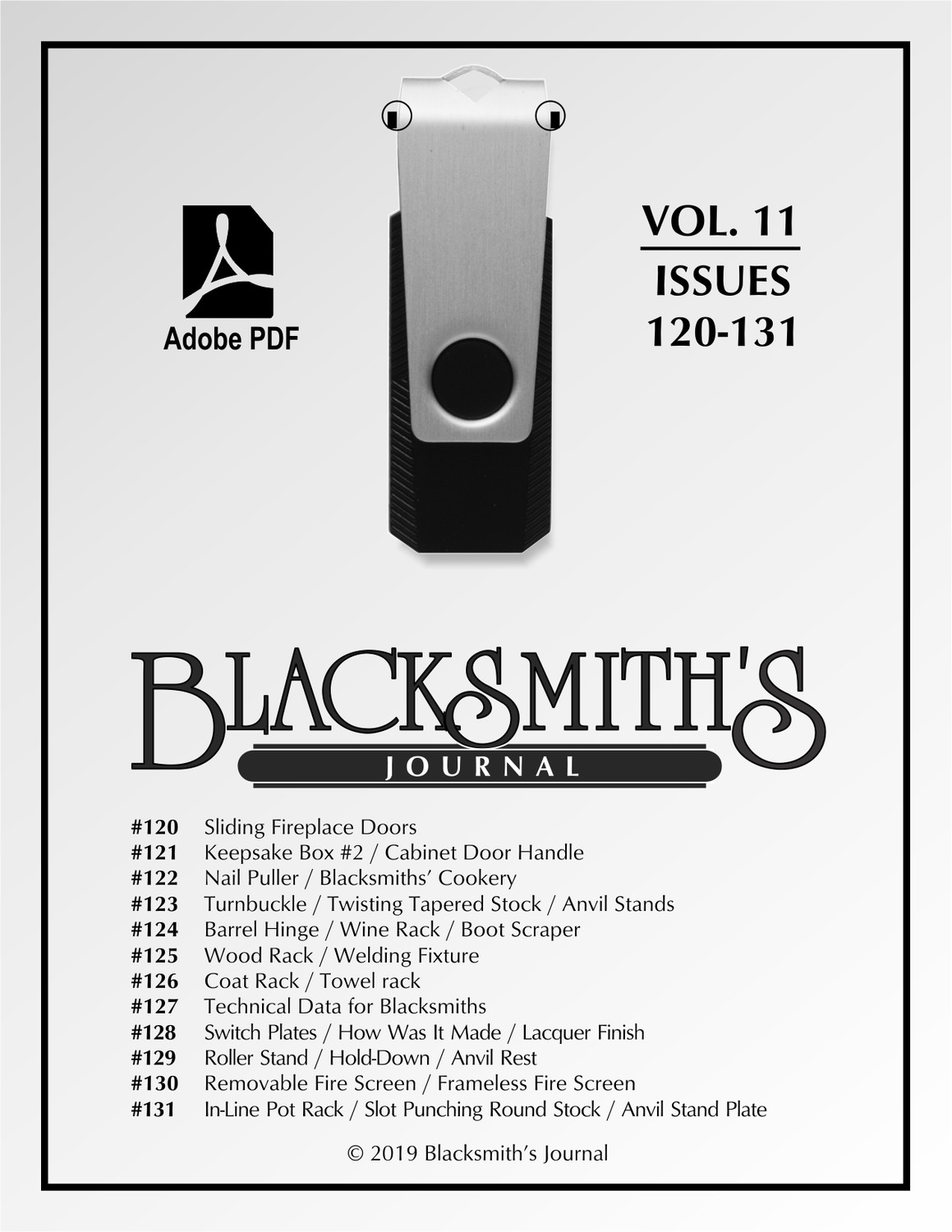 USB Flash Drive - Blacksmith's Journal Vol. 11