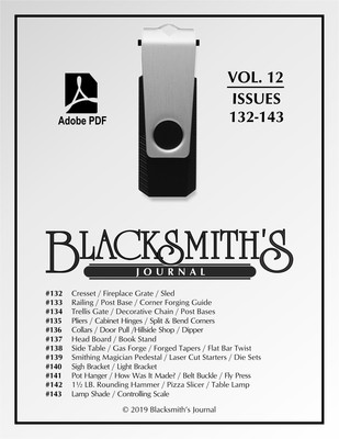 USB Flash Drive - Blacksmith's Journal Vol. 12