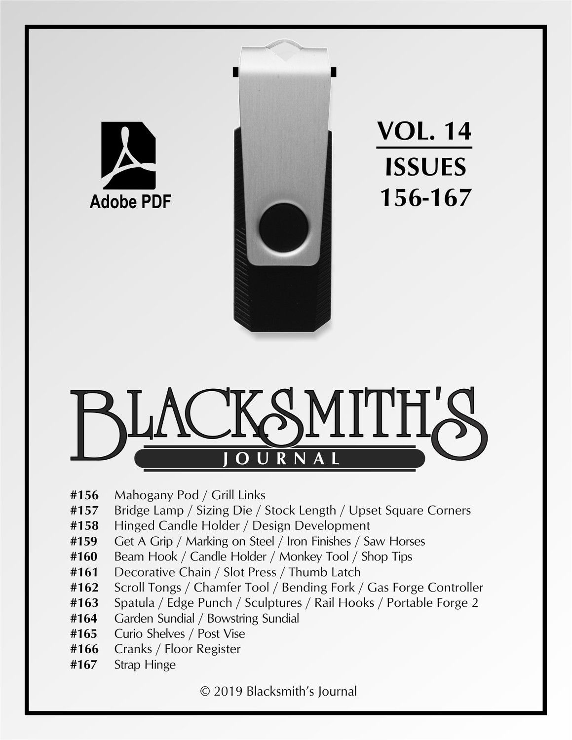 USB Flash Drive - Blacksmith's Journal Vol. 14