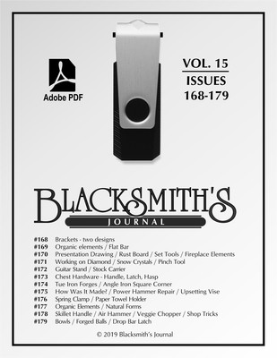 USB Flash Drive - Blacksmith's Journal Vol. 15