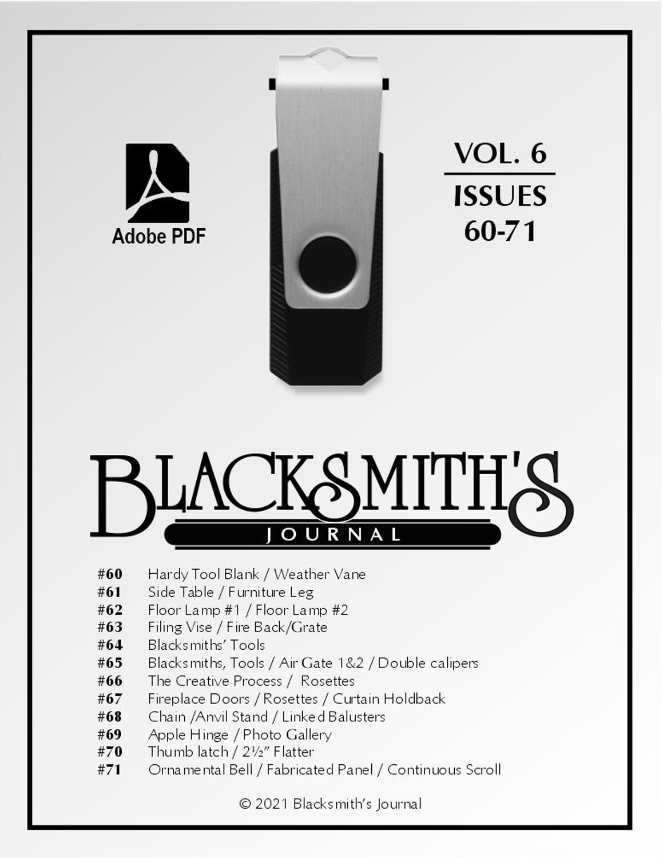 USB Flash Drive - Blacksmith's Journal Vol. 06