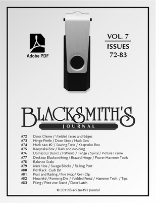 USB Flash Drive - Blacksmith's Journal Vol. 07