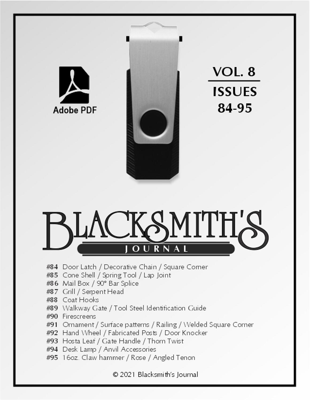 USB Flash Drive - Blacksmith's Journal Vol. 08