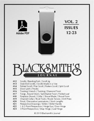USB Flash Drive - Blacksmith's Journal Vol. 02