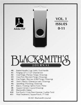 USB Flash Drive - Blacksmith's Journal Vol. 01