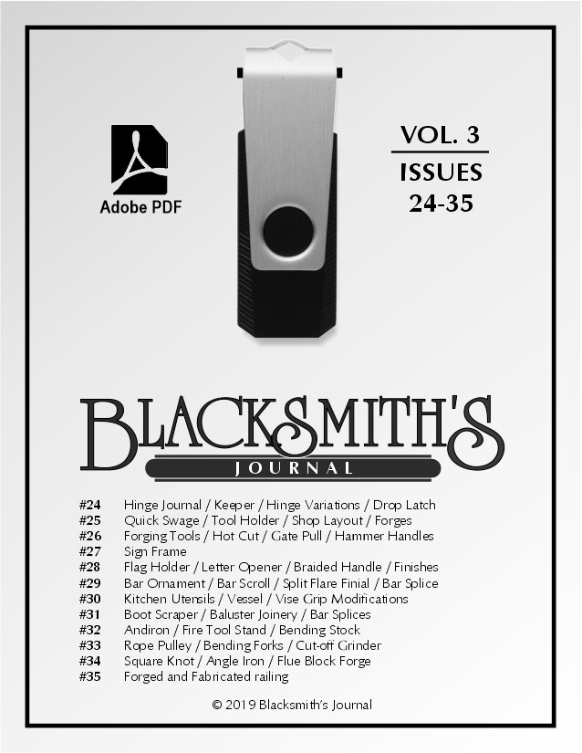 USB Flash Drive - Blacksmith's Journal Vol. 03