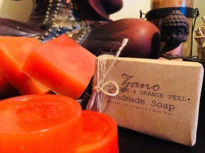 Applejack & Orange Peel Soap